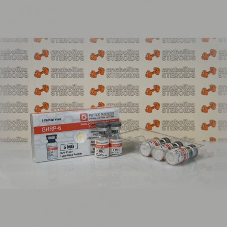 GHRP 6 5 mg Peptide Sciences
