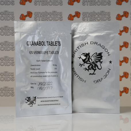 Oxanabol 10 mg British Dragon Pharmaceuticals