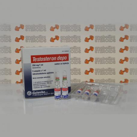 Testosteron Depo (Testosteron Enanthato) 250 mg Galenika